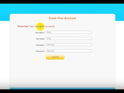 How to Create PHP Registration form, (Sign Up Form) Using PHP & MySQL | Bangla Tutorial