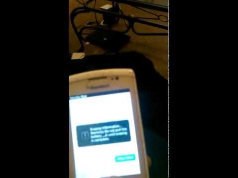 BlackBerry Torch 9800 Hard Reset
