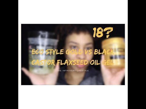 Review + Demo: Eco Style GOLD Gel | Natural Hair