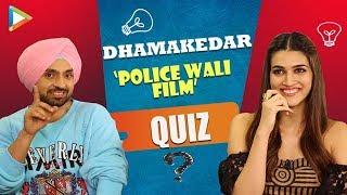 CRAZY Dhamaka: HILARIOUS QUIZ with Kriti Sanon & Diljit Dosanjh | Arjun Patiala | Hungama