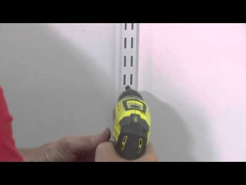 How To Install A Wire Wardrobe System - DIY At Bunnings