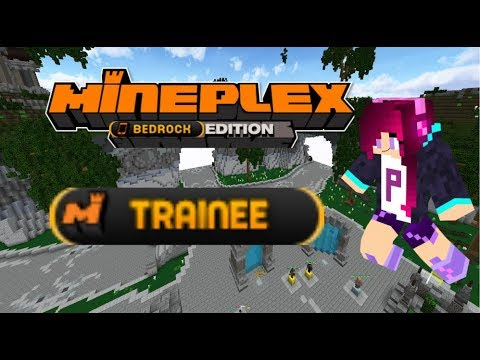 I got Mineplex Trainee!!