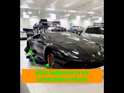 What happened to my Lamborghini Huracan wheels