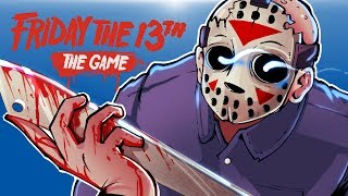 Friday The 13th - JASON IS COMING FOR YOU!!! (Funny Boat Escape!)
