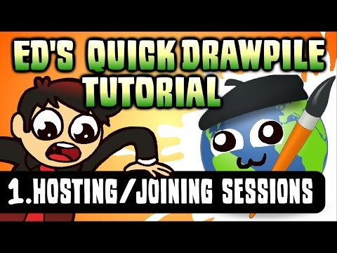 Ed's Drawpile Tutorial - Getting Connected!