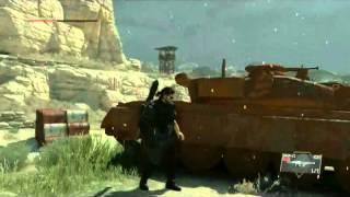 Metal Gear Phantom Of Pain Chpater 1 Final Boss