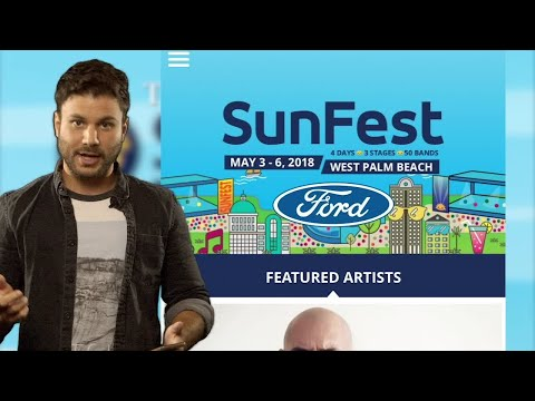 SunFest 2018: Your survival guide isn't complete without the SunFest app