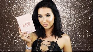 KKW/KYLIE COSMETICS SWATCHES & REVIEW   Jaclyn Hill