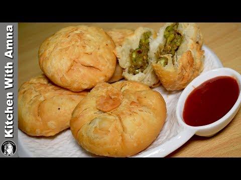 Matar Kachori Recipe - Ramadan Special Recipe - Kitchen With Amna