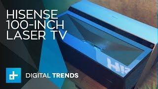 Hisense 100-inch Laser TV - Hands on at CEDIA 2017
