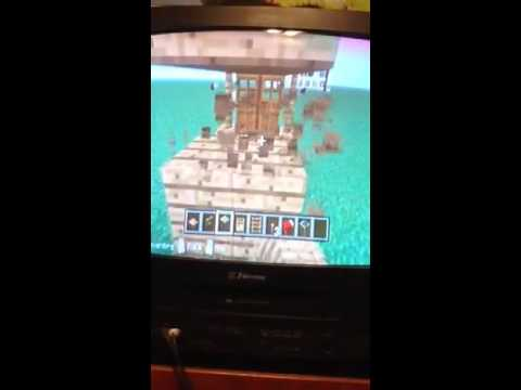 Minecraft tutorial how to make survival house