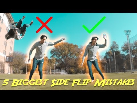 5 Biggest Side Flip Mistakes | Perfect Your Side Flip