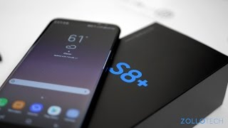 Samsung Galaxy S8+ Unboxing and First Look