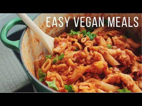 Easy Vegan Meals for Fall & Winter!