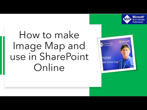 How to make image map and use in SharePoint online or SharePoint 2016 or 2013