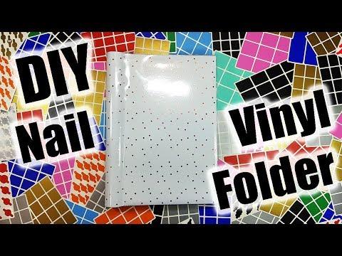 Create Your Own Nail Vinyl & Tape Organiser