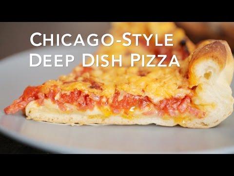 Chicago-Style Deep Dish Pizza [BA Recipes]