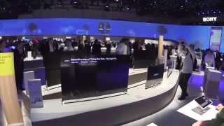Sony @ CES 2015 Booth Walkthrough