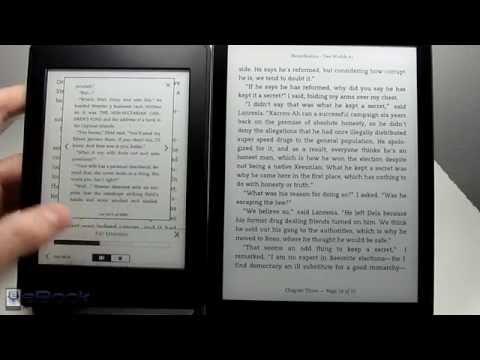 Kindle vs Kobo Aura One Comparison Review