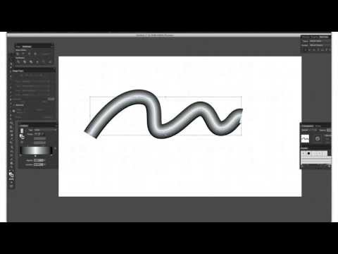 Applying Gradients to Strokes Illustrator CS6