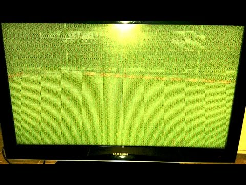 How to Repair Samsung LCD TV Power Cycling, Screeching High Pitched Noise and Bad Picture