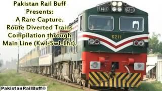 Pakistan Railways High speed  3000 hp De Locos