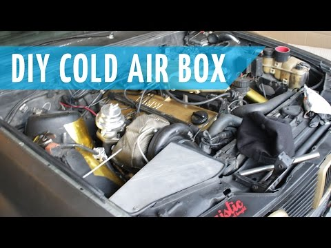 DIY Cold Air Intake Box