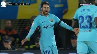 اهداف مباراة  لاس بالماس و برشلونة | 1-1  | الدوري الإسباني |  1-3-2018 | HD