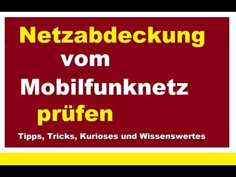 Netzabdeckung online prüfen 4G.de Mobilfunknetz Mobilfunkanbieter Vodafone o2 T-Mobile