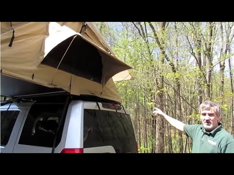 Atlantic British Presents: Install ARB Simpson III Rooftop Tent (ARB3201) on LR3