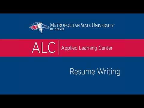 Internship Resume Tips