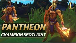 PANTHEON REWORK CHAMPION SPOTLIGHT - League of Legends