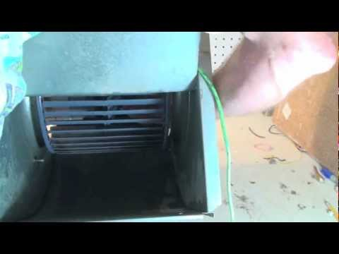 Blower and heat exchanger cleaning
