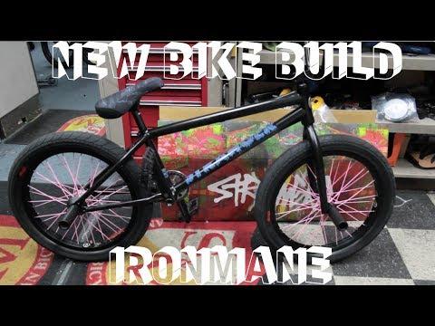 BUILDING UP MY CUSTOM IRONMANE SIGNATURE BMX BIKE