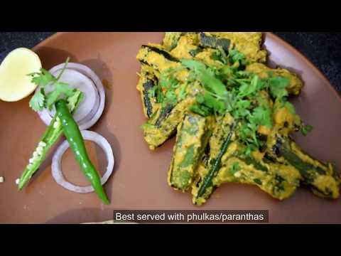 Mustard Okra Masala/ Sarso Bhindi Masala