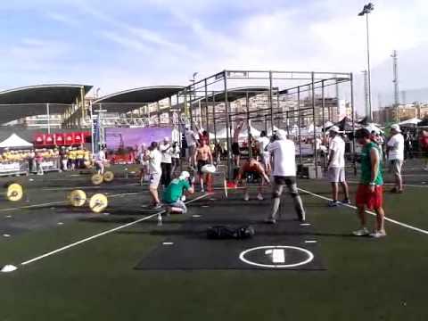 Reebok CrossFit National Spain - Final - Rob Martin - CrossFit Mallorca