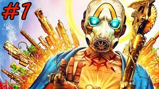 Borderlands 3 - Walkthrough - Part 1 - Children of the Vault (PC HD) [1080p60FPS]