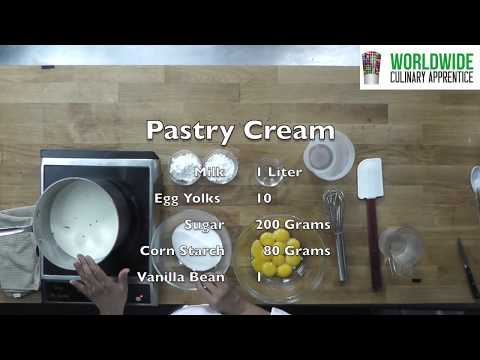 The secrets behind making the perfect Pastry Cream - Pastry Cream Techniques