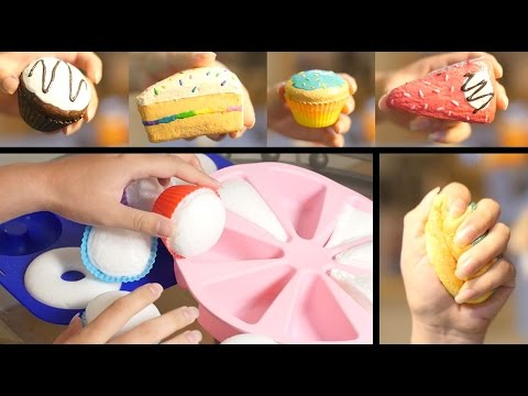 How to Make Homemade Squishies!