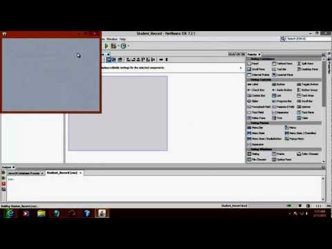 Creating Database Application in Netbeans 1/4