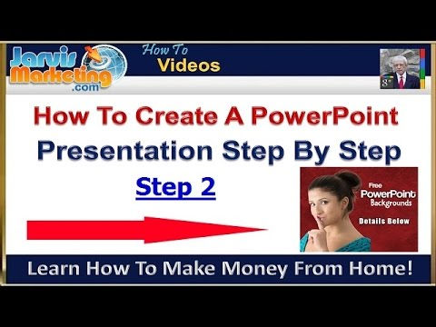 How To Create A PowerPoint Presentation Step By Step 2 - Change Background