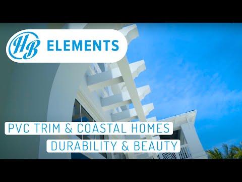 Florida Keys Custom Home Design-Build   PVC Exterior Trim
