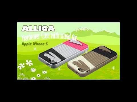 ALLIGA hardcover case with stand for Apple iPhone 5
