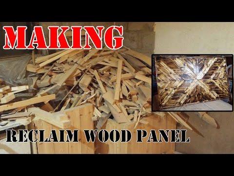 Reclaim wood panel (Design)