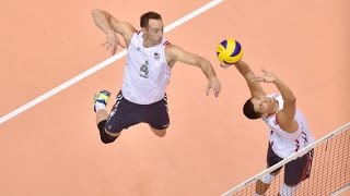 David Smith + David Lee - USA Middle Blocker Volleyball Highlights