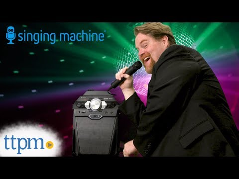 Vibe Portable Hi-Def Karaoke System from The Singing Machine Company