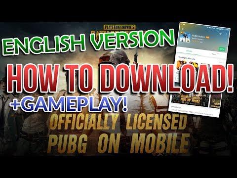 PUBG MOBILE APK + GAMEPLAY! ;) [Download English Version]
