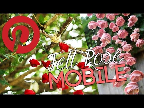 Felt Rose Mobile (Valentine's Day Collab) ✔ PINVESTIGATE #05