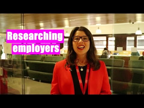 Researching Employers - One Minute Tips | The Great Grad Job Hunt