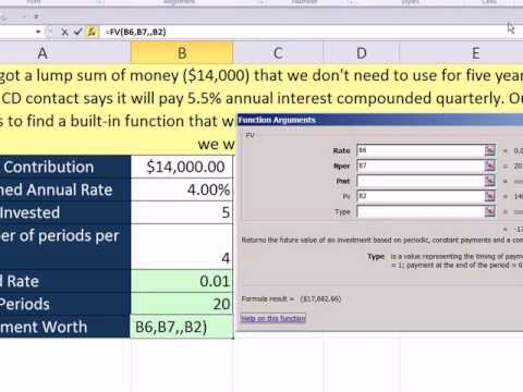 Slaying Excel Dragons Book #21: Benefits of Insert Function Dialog Box. FV Function Example